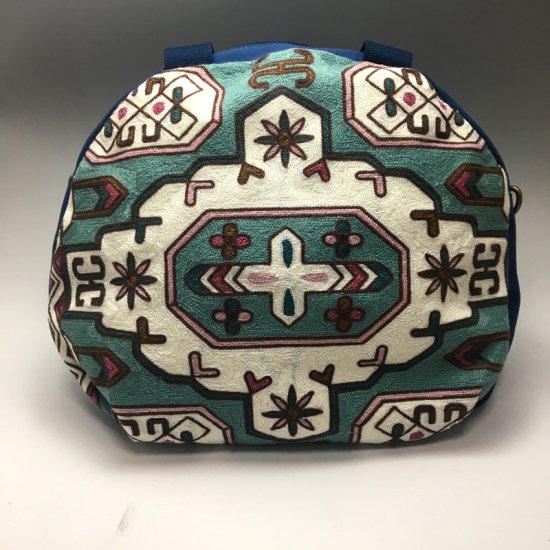 ウイグル カザフ民族刺繍バッグ-13