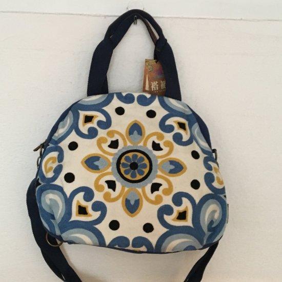 ウイグル カザフ民族刺繍バッグ-14