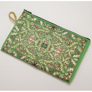 トルコ 絨毯柄のミニポーチ-1