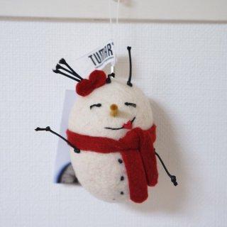 キルギス TUMAR オーナメント 雪だるま1
