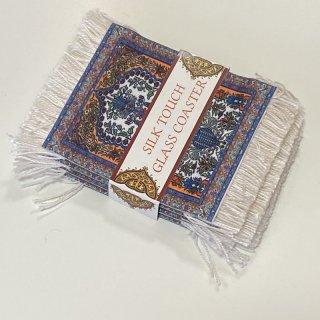 トルコ 絨毯コースター 4枚セット 2