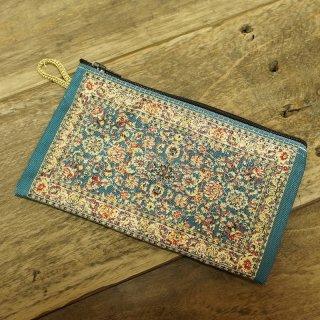 トルコ 絨毯柄のミニポーチ-2