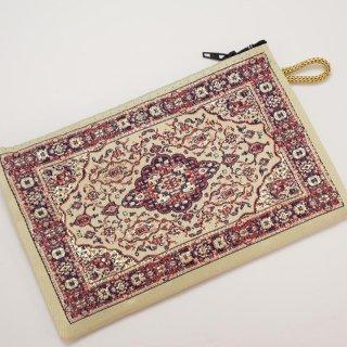 トルコ 絨毯柄のミニポーチ-6