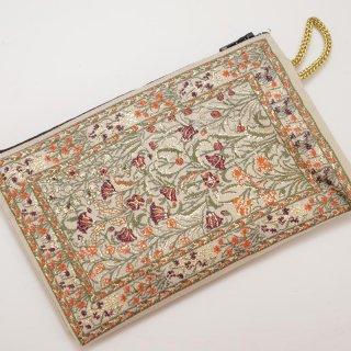 トルコ 絨毯柄のミニポーチ-8