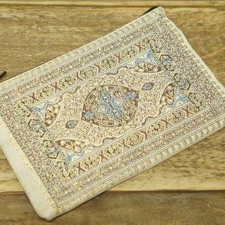 トルコ 絨毯柄のミニポーチ-10