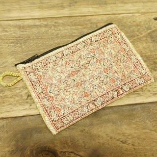 トルコ 絨毯柄のミニポーチ-12