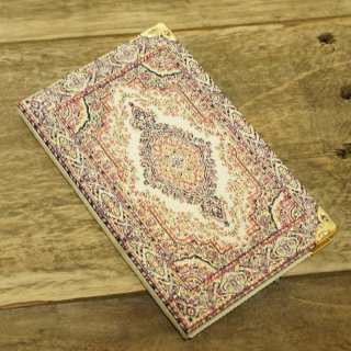 トルコの絨毯模様の手帳 7
