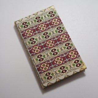 トルコの絨毯模様の手帳 9