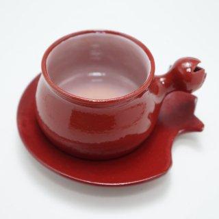 アルメニア ザクロ型のカップ&ソーサー