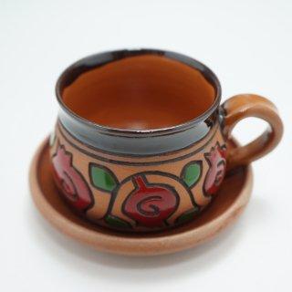 アルメニア ザクロ模様のカップ&ソーサー1