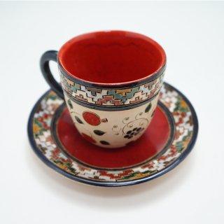 アルメニア ハンドメイドカップ&ソーサー ザクロとブドウ