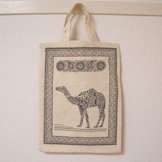 ウズベキスタン トートバッグ-駱駝-01