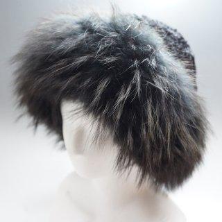 ウズベキスタン カラクール羊と野生の狐の毛の帽子