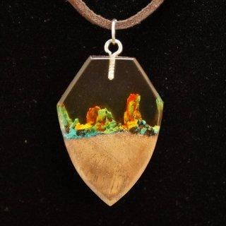 アルメニア Wooden Art's Jewelry ペンダント12