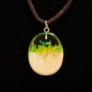 アルメニア Wooden Art's Jewelry ペンダント13