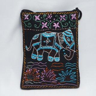 バングラディッシュ ノクシカタ刺繍 ミニショルダーバッグ2