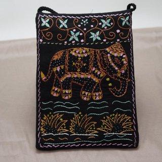 バングラディッシュ ノクシカタ刺繍 ミニショルダーバッグ3
