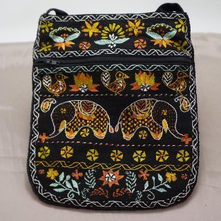 バングラディッシュ ノクシカタ刺繍 ショルダーバッグ4