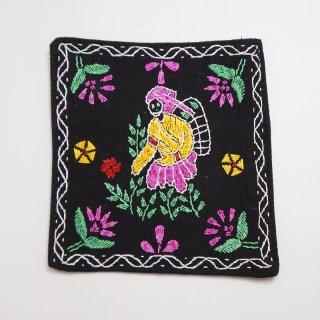 バングラディッシュ ノクシカタ刺繍のコースター5
