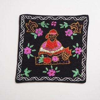 バングラディッシュ ノクシカタ刺繍のコースター7