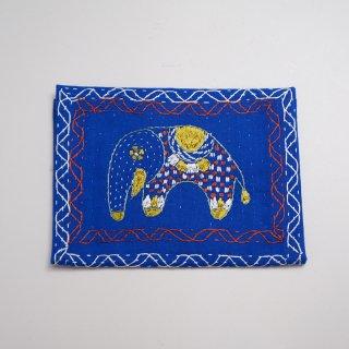 バングラディッシュ ノクシカタ刺繍 ティッシュケース2