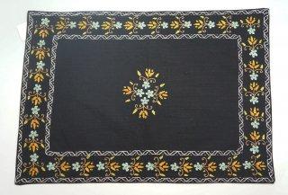 バングラディッシュ ノクシカタ刺繍 ランチョンマット1