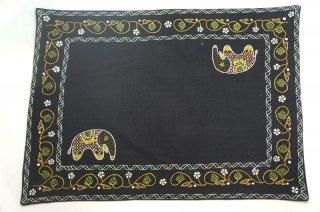 バングラディッシュ ノクシカタ刺繍 ランチョンマット3