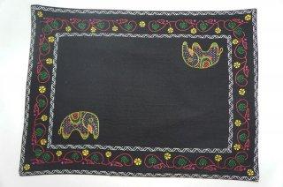 バングラディッシュ ノクシカタ刺繍 ランチョンマット6