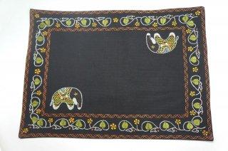 バングラディッシュ ノクシカタ刺繍 ランチョンマット7