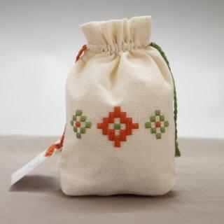 アルメニア ハンドメイド刺繍ミニポーチ-4