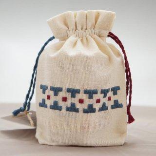 アルメニア ハンドメイド刺繍ミニポーチ-6