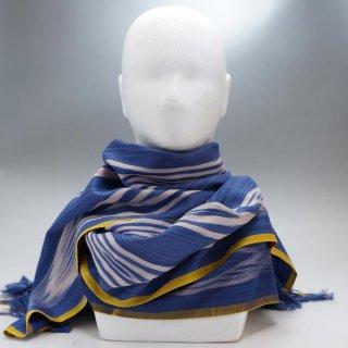 ウイグル ホータン伝統の手織りシルク アトラスシルクストール-13