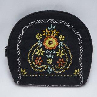 バングラディッシュ ノクシカタ刺繍 ミニポーチ2