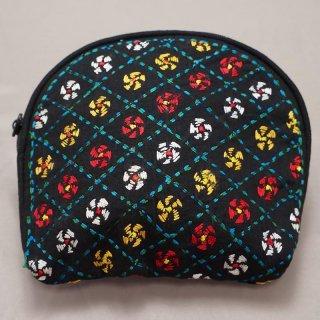 バングラディッシュ ノクシカタ刺繍 ミニポーチ3