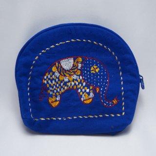 バングラディッシュ ノクシカタ刺繍 ミニポーチ4