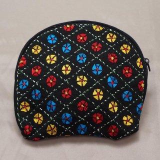バングラディッシュ ノクシカタ刺繍 ミニポーチ6