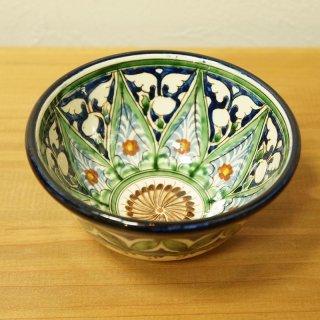 ウズベキスタン リシタンの陶器 カップ中-03