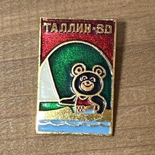 モスクワオリンピック ミーシャのピンバッジ13
