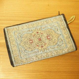 トルコ 絨毯柄のミニポーチ-13