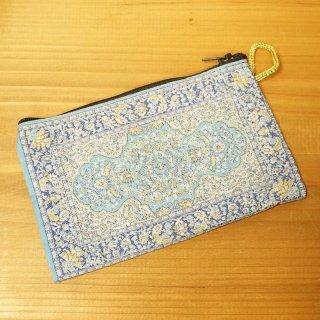 トルコ 絨毯柄のミニポーチ-14