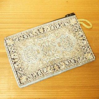 トルコ 絨毯柄のミニポーチ-16