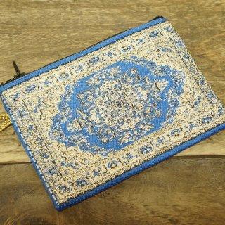 トルコ 絨毯柄のミニポーチ-17