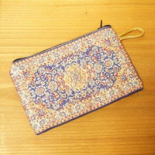 トルコ 絨毯柄のミニポーチ-18