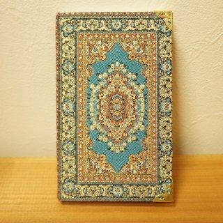 トルコの絨毯模様の手帳 16