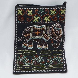 バングラディッシュ ノクシカタ刺繍 ミニショルダーバッグ6
