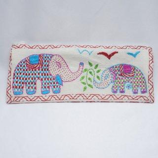 バングラディッシュ ノクシカタ刺繍 ペンケース6