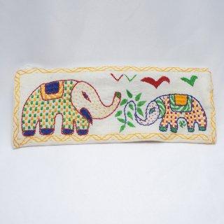 バングラディッシュ ノクシカタ刺繍 ペンケース7