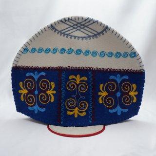 キルギスタン フェルト ティーコゼー ユルト4