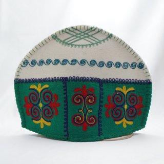 キルギスタン フェルト ティーコゼー ユルト5
