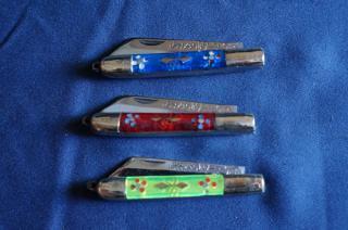 ウイグル人の伝統装飾ナイフ!インギサルナイフ(柄:真鍮、合成樹脂)